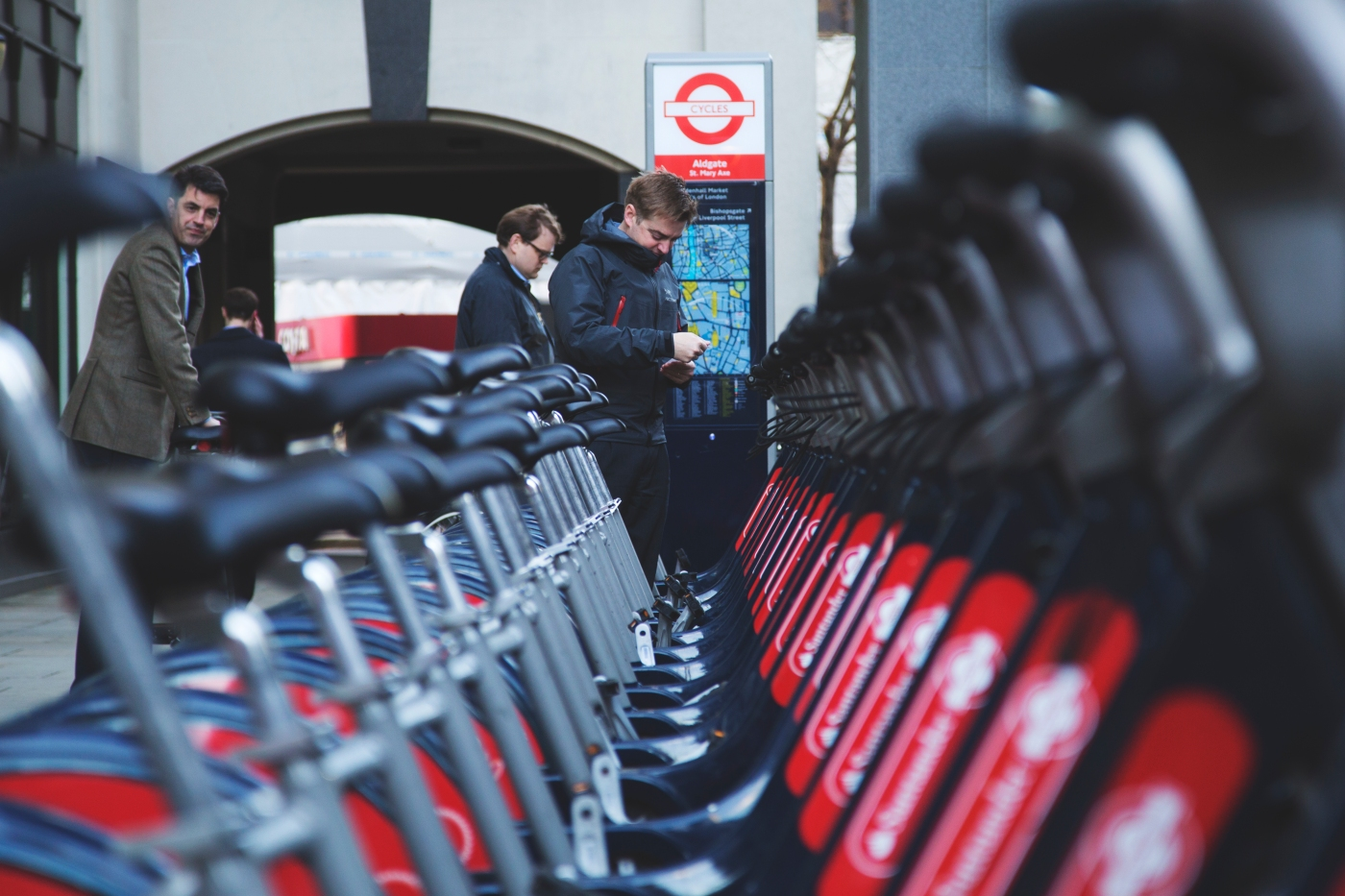 SACO Guide to pubich transport from Cannon Street