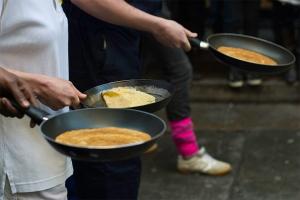 race pancake saco