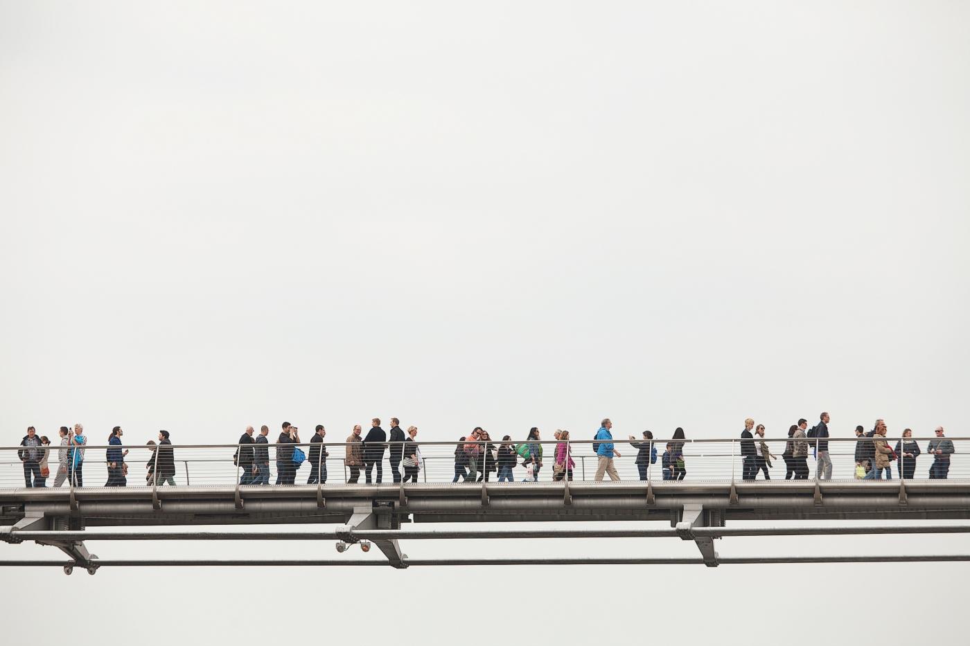 pindrop millenium bridge