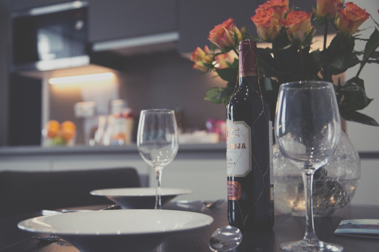 Wine in London Serviced Apartment